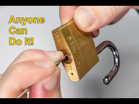 [275] Master Lock 140D | How To Open Any In Seconds!