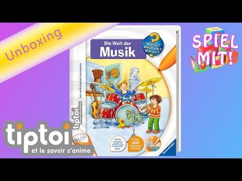 TIPTOI Musik - Die Welt der MUSIK - demo von Spiel mit mir - Kinderspielzeuge