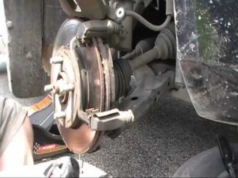 2008 Chevy Cobalt Ls Front Brake Change Youtube
