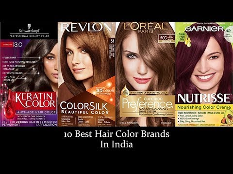 10 Best Hair Color Brands In India