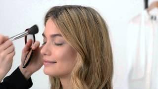 Видео урок: макияж в золотых тонах