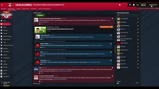 Let's Play (PT-BR) Football Manager 2019  Benfica # 97