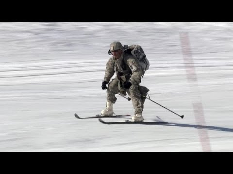 Ski Warfare - Stryker Soldiers Participate in Alaska Shield Exercise