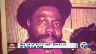 Man Killed In Detroit House Fire
