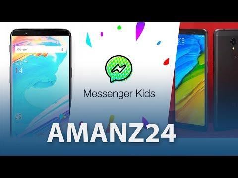 #Amanz24 - Xiaomi Redmi 5, Facebook Messenger Kids, OnePlus 5T Malaysia