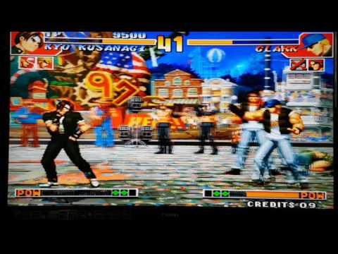 月光寶盒3G 拳皇97遊戲運行實拍