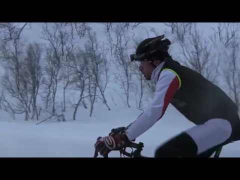 Lapland: the road to Nordkapp - Arctic Ultracycling adventure by Omar Di Felice