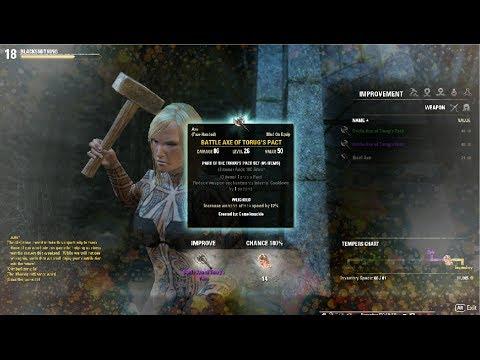 Legendary Item - Crafting Enchanting Using Elder Scrolls Online