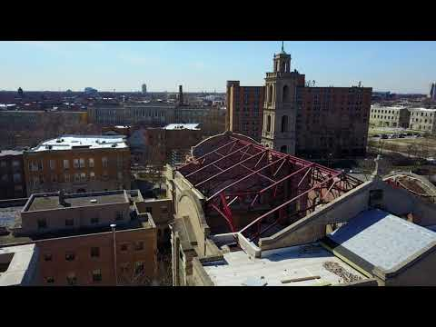 Completion of Truss Installation, Chicago