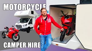 Just Go Adventurer Motorhome Camper Hire Review With Motorbike Locker