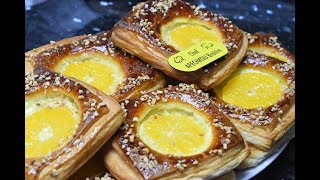 كرواصون بالكريمة والبرتقال لإفطار رمضان سهلة و لذيذة تحضر في وقت وجيز - وصفات رمضان 2019
