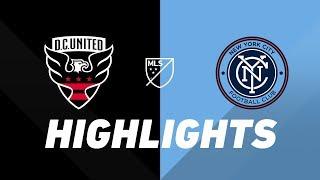 D.C. United vs. NYCFC   HIGHLIGHTS - April 21, 2019