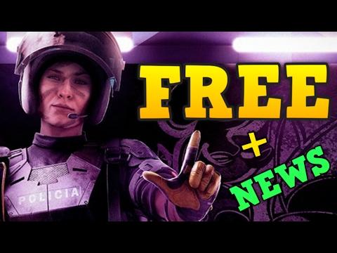 SIEGE FREE + OPERATOR INFO - Rainbow Six: Siege News - 동영상