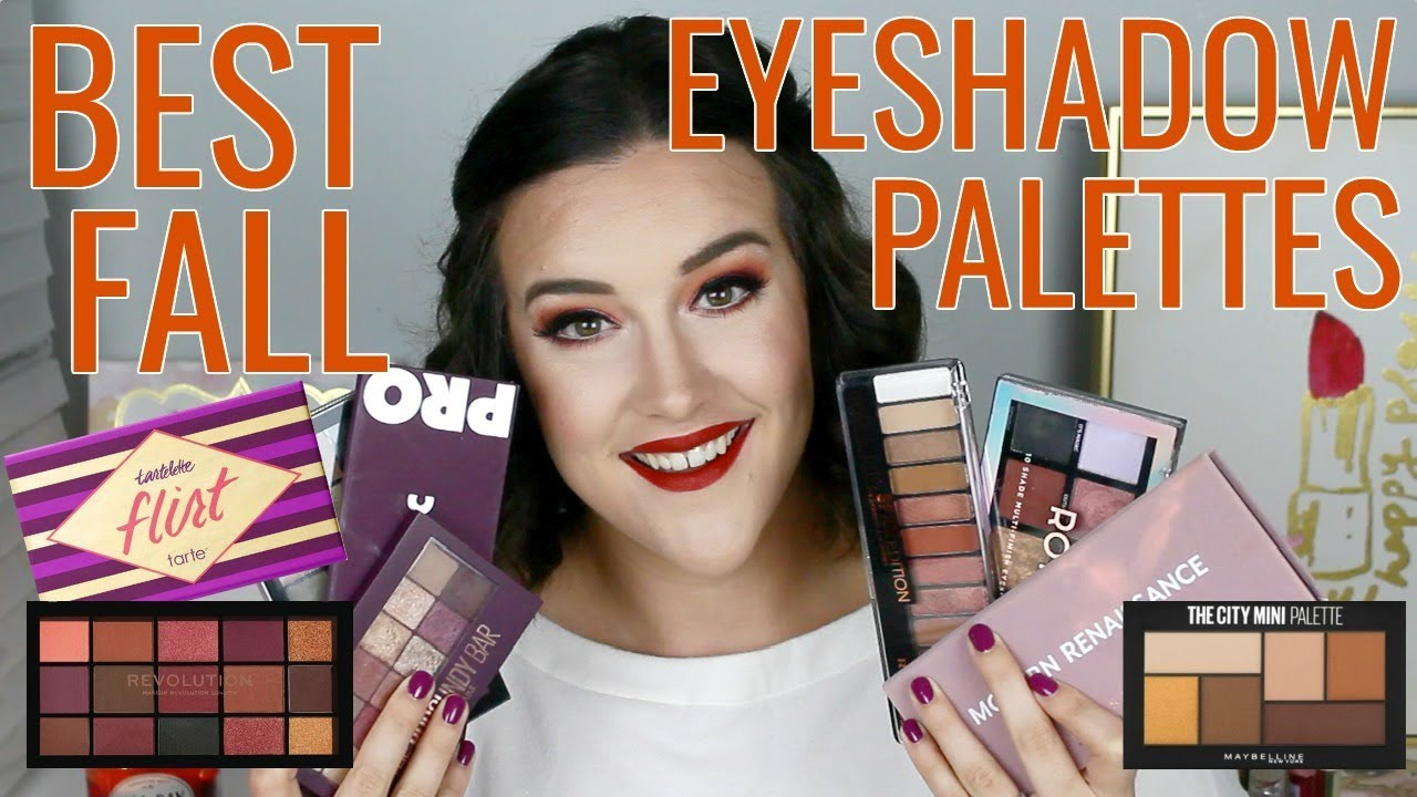 Best Fall Eyeshadow Palettes Andrealeigh23