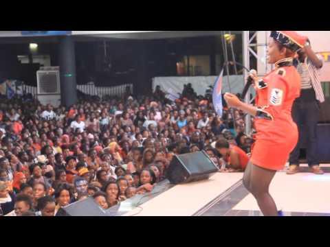 Princess Amiirah performing at Freedom City.