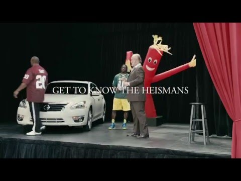 Nissan Heisman House   Acting Class w/Robert Griffin 3 and Billy Sims