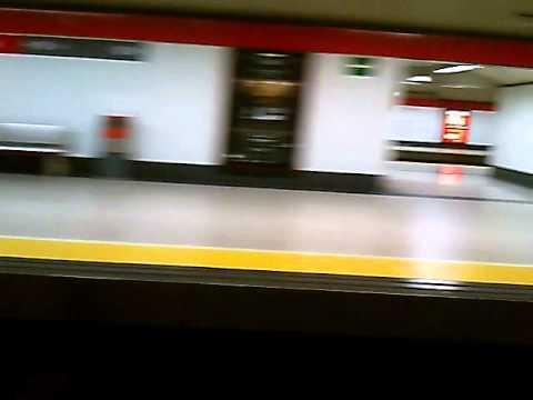 Madrid to Barajas train
