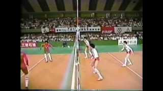 1987 Volleyball Cuba vs Japan