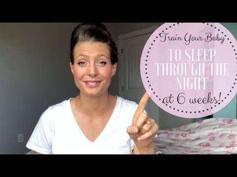 SLEEP TRAINING YOUR BABY AT 6 WEEKS // TIPS FOR SLEEP TRAINING YOUR BABY //