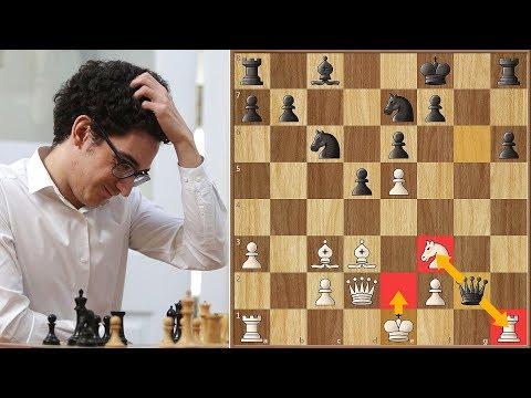 Brilliant Miniature by World Championship Challenger Fabiano Caruana
