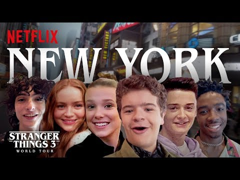 Stranger Things 3 World Tour | New York City | Episode 1