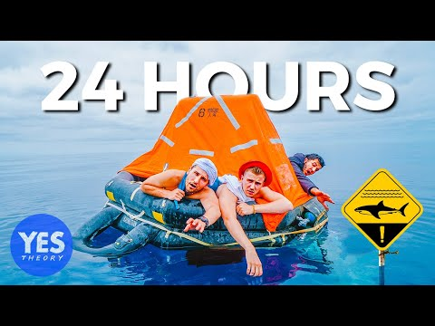 STRANDED AT SEA FOR 24 HOURS