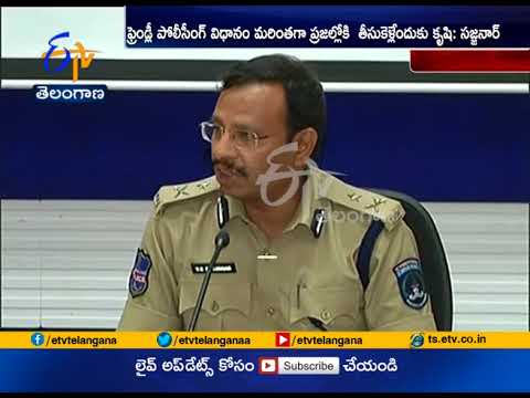 V.C Sajjanar Takes Charge | as Commissioner of Police  Cyberabad