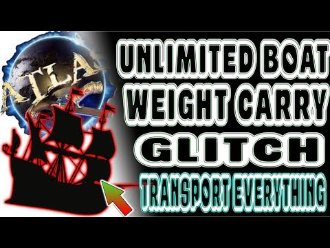 EPIC UNLIMITED BOAT CARRY GLITCH | ATLAS (ARK) | TRANSPORT UNLIMITED WEIGHT BY BOAT | AFTER PATCH