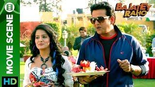 ravi kishan flirts with vishakha singh bajatey raho