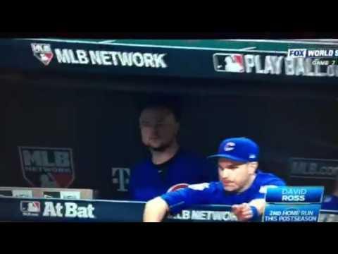 2016 World Series Cubs vs Indians Game 7 - David Ross Homerun Last Game Of Career!