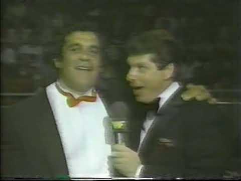 Angelo Mosca & Vince McMahon [1984-09-08]
