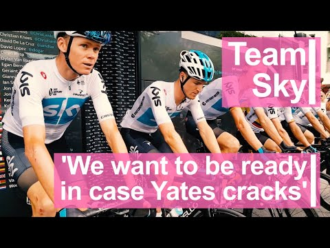 Team Sky: 'We want to be ready in case Yates cracks'