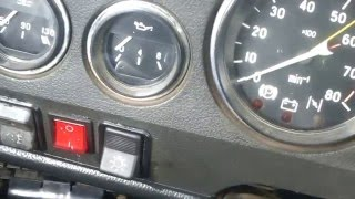 видео Где находится датчик включения вентилятора ВАЗ 2107 и указатель температуры охлаждающей жидкости