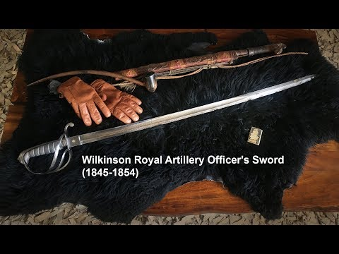 Wilkinson Royal Artillery Officer Sabre