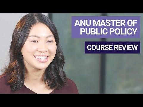 Master of Public Policy | Crawford School | Amanda Lee