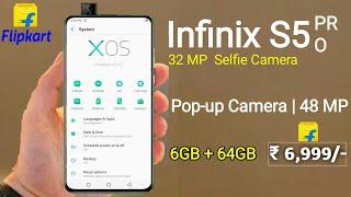 nfinix S5 Pro  48 MP Camera Pop up Camera  Official look