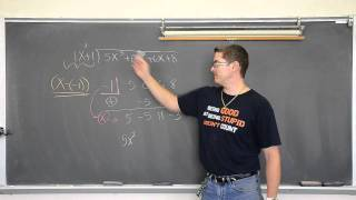 Synthetic Division & Remainder Theorem