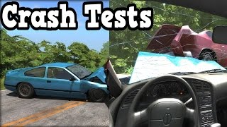 BeamNG Drive - First Person Crash Tests 2