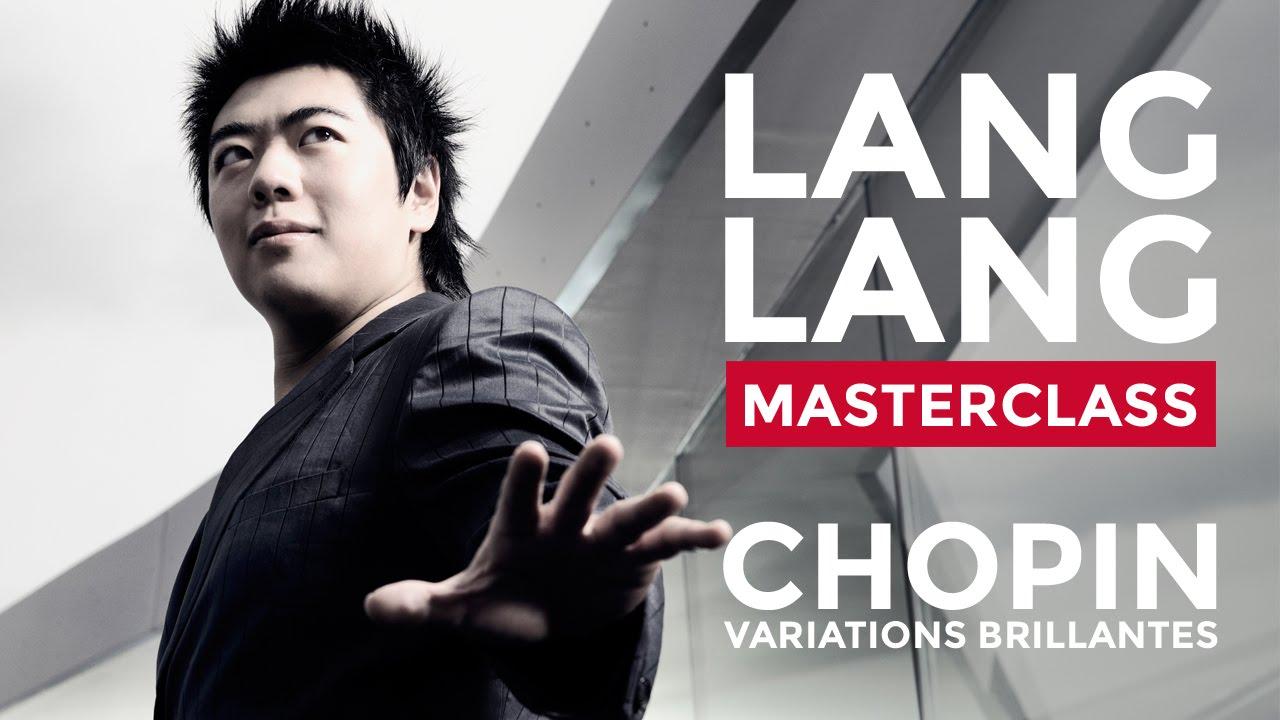 Lang Lang Masterclass at the Royal College of Music: Chopin's Variations Brillantes