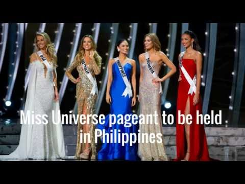 Miss Universe Pageant 2017 host is the Philippines