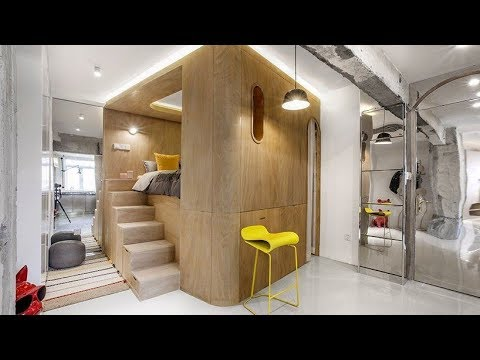 Tiny 48 sqm Apartment In Shanghai