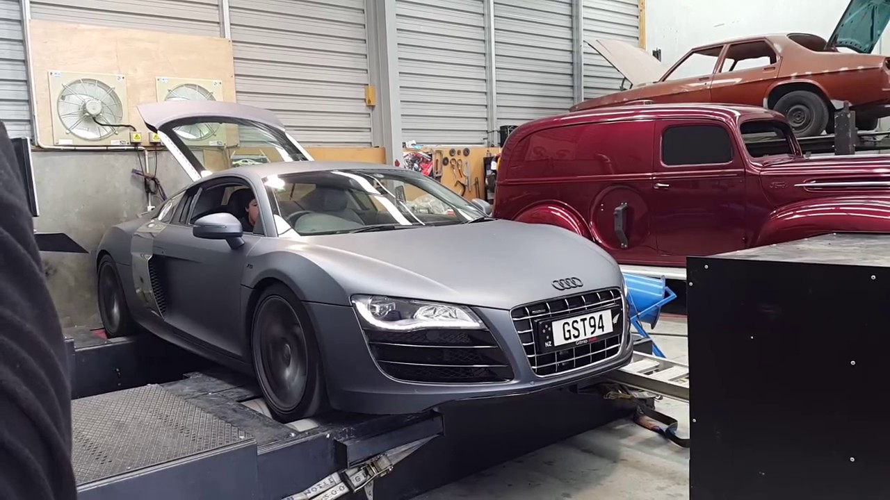 2009 audi r8 v10 dyno run youtube. Black Bedroom Furniture Sets. Home Design Ideas