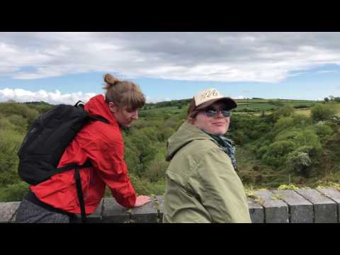Cycling the Waterford Greenway to Atlantic Ocean, Waterford to Dungarvan, Ireland - May 2017