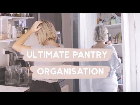 Organising My Apartment ✨PANTRY MAKEOVER AND ORGANISATION