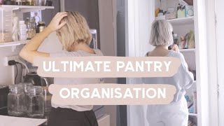 Getting my Life Together ✨PANTRY MAKEOVER AND ORGANISATION
