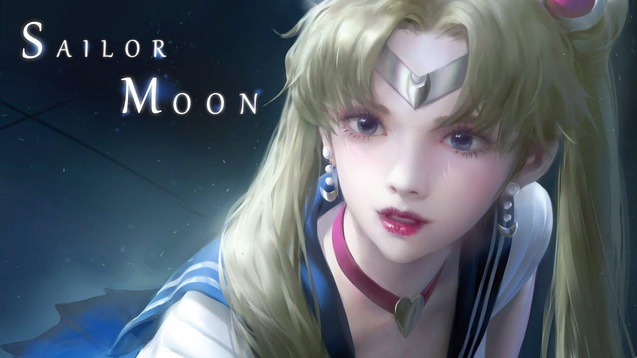[일러스트] 세일러 문 Sailor Moon #Painting #Girl