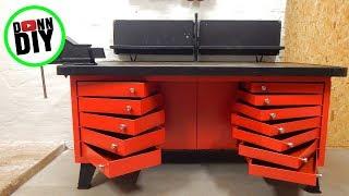 Work Bench Overhaul In Machine Shop