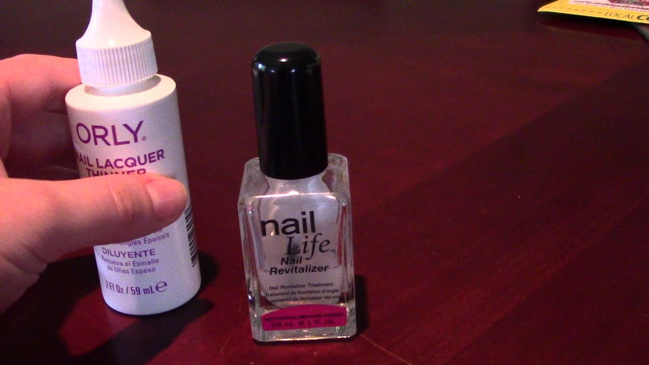 How to fix old nail polish - YouTube