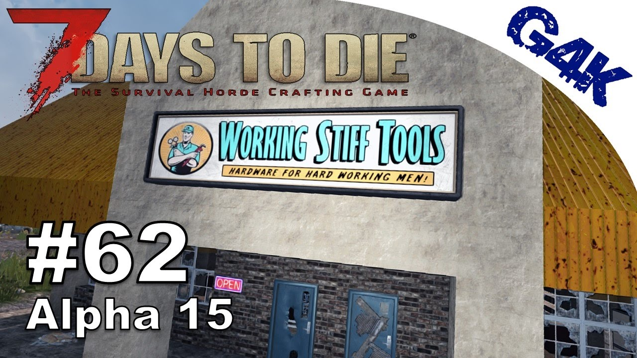 Taking The Working Tools Apart 7 Days To Die S09e62