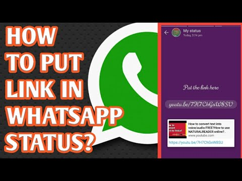 How To Put Link In Whatsapp Status Story